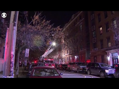 At least 12 dead after fire sweeps through Bronx apartment building