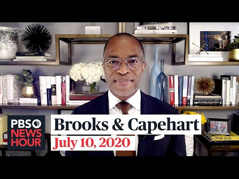 David Brooks and Jonathan Capehart on Trump's school pressure, Biden's economic plan
