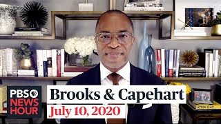 David Brooks and Jonathan Capehart on Trump's school pressure, Biden's economic plan