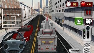 Firefighter Truck Simulator 3D - Gameplay Android