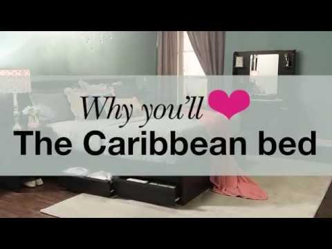 Caribbean bedroom suite