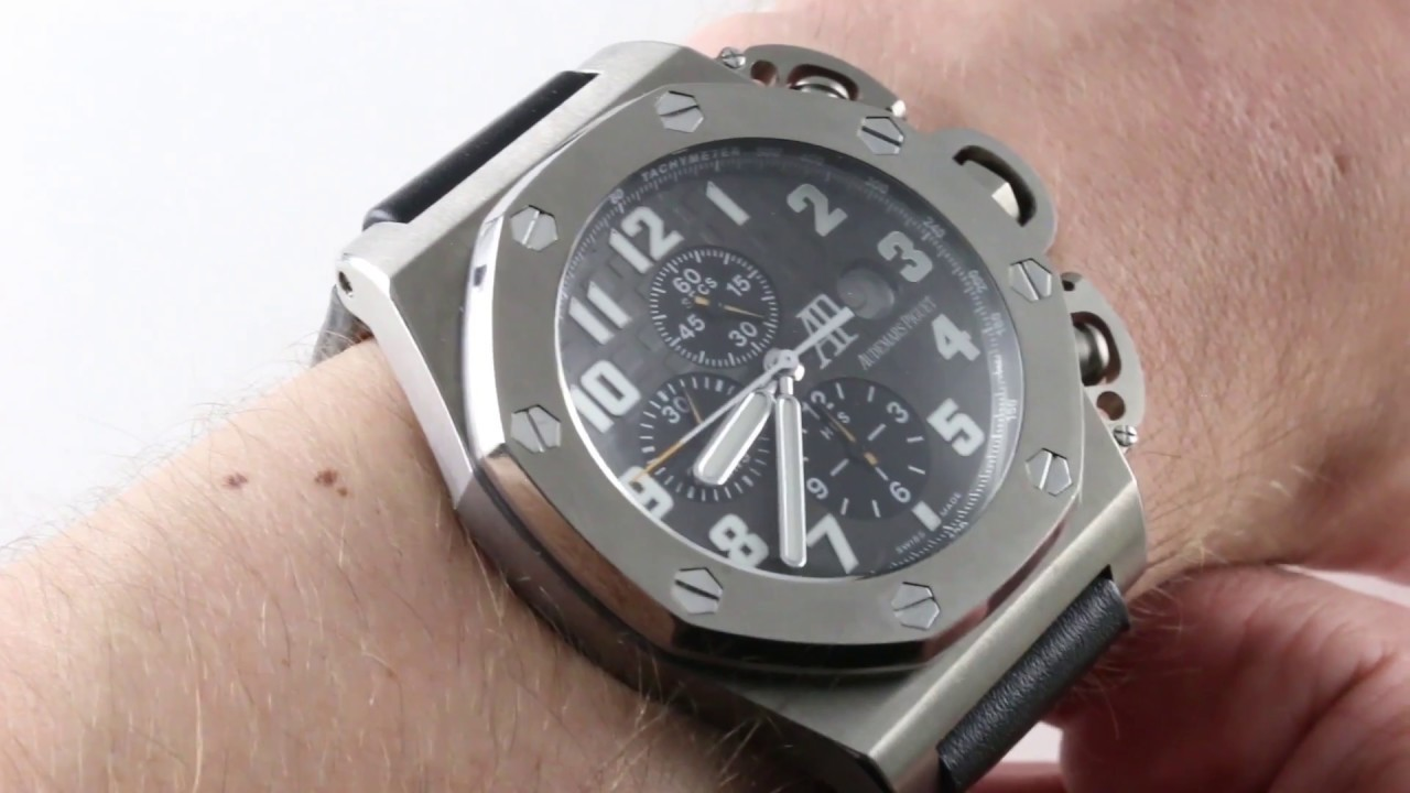 bc2bacb1f4e Audemars Piguet 'T3' Royal Oak Offshore Limited Edition  25863TI.OO.A001CU.01 Luxury Watch Review