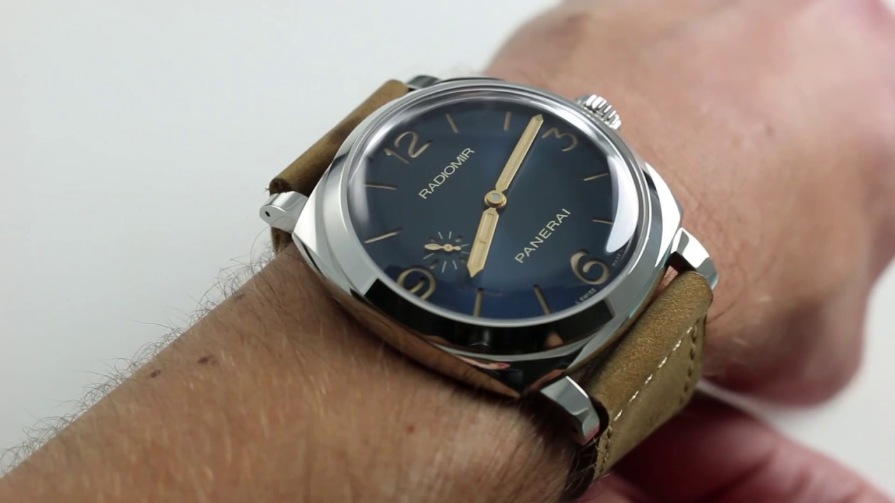 9a1cc59a402 Pre-Owned Panerai Radiomir 1940 3 Days Acciaio PAM690 Luxury Watch Review