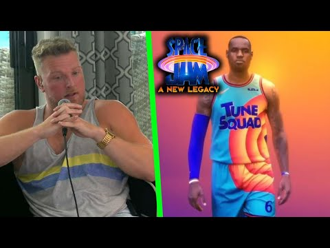 Pat McAfee Reacts To LeBron James' New Space Jam Jersey