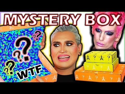 JEFFREE STAR SUMMER MYSTERY BOX UNBOXING Expired Makeup?