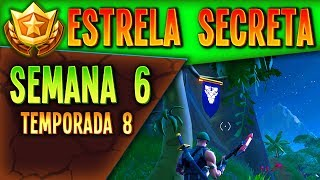 Star Secret Banner Woche 6 Staffel 8 | Fortnite Battle Royale