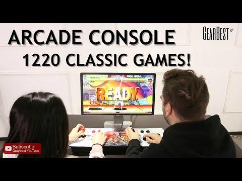 Arcade Console W/ 1220 Video Games! - GearBest