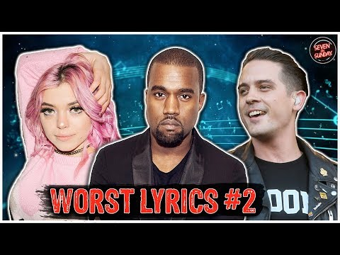 7 of the WORST Cringe Inducing Lyrics of All Time #2