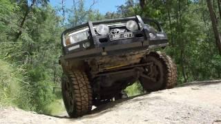 Portal Axles on 70 Series LandCruiser - Marks 4WD