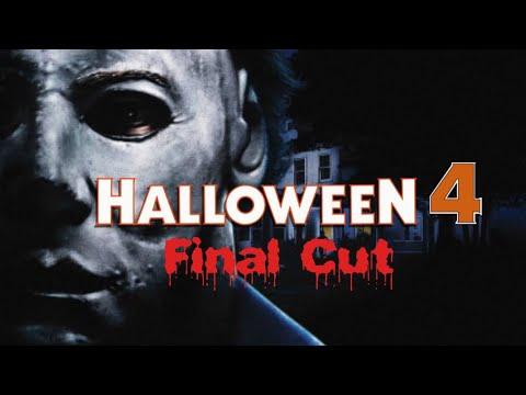 HALLOWEEN 4 Final Cut poster
