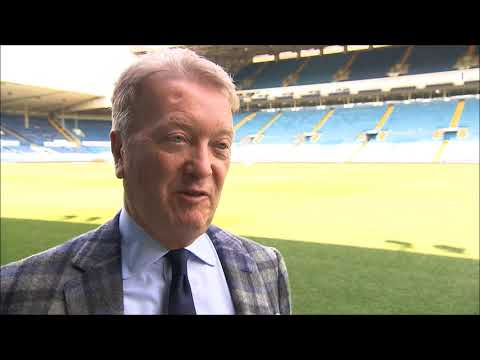 """""""WE'RE GOING TO GET SOMETHING SPECIAL!""""   Frank Warren previews Selby v Warrington on May 19th"""