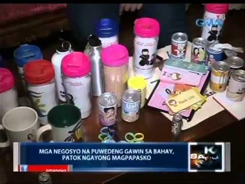 Saksi: Mga negosyo na puwedeng gawin sa bahay, patok ngayong magpapasko