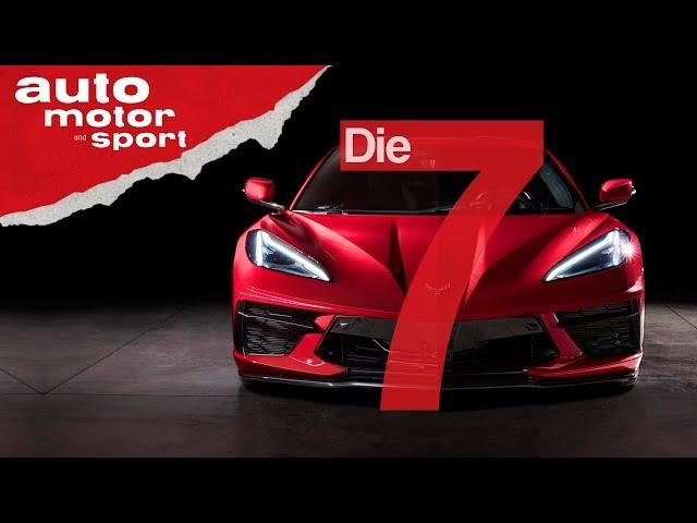 Neues Zentrum der Macht? 7 Fakten zur neuen Corvette C8 Stingray (2020) | auto motor & sport