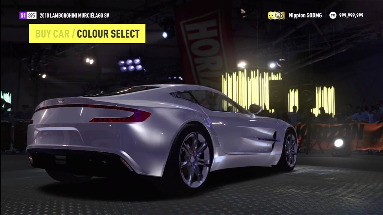 purchasing a new aston martin one 77 money hack mod forza horizon
