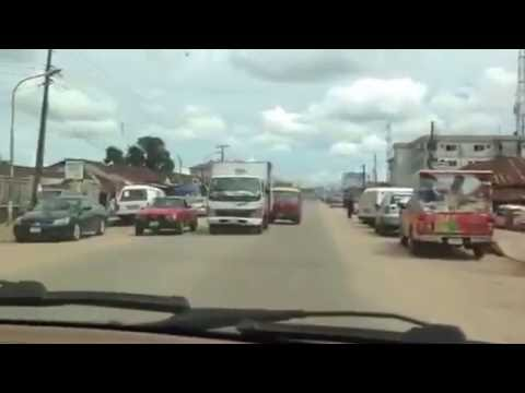 Sakponba road Benin city Nigeria 2016