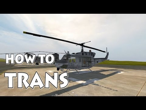 Project Reality Transport Helicopter Tutorial
