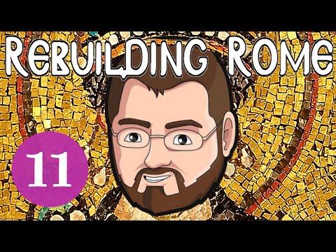 Rebuilding Rome [Part 11] Serbian Submission - Byzantium - Let
