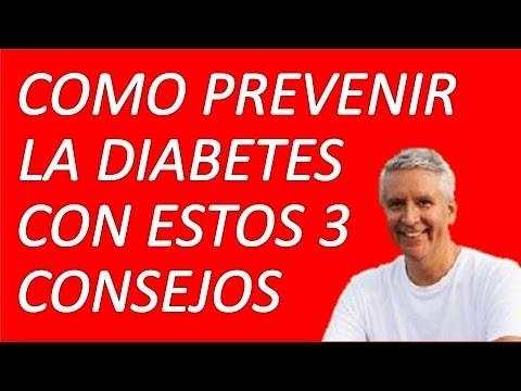 Como Prevenir La Diabetes Con Estos 3 Sencillos y