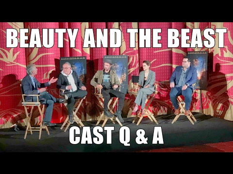 Beauty and the Beast LIVE Q & A w/ CAST
