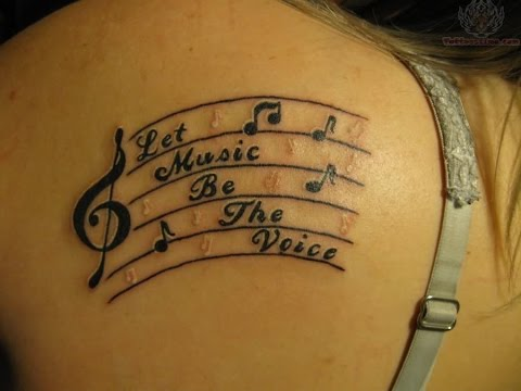 Tatuajes de Musica Diseños y Estilos