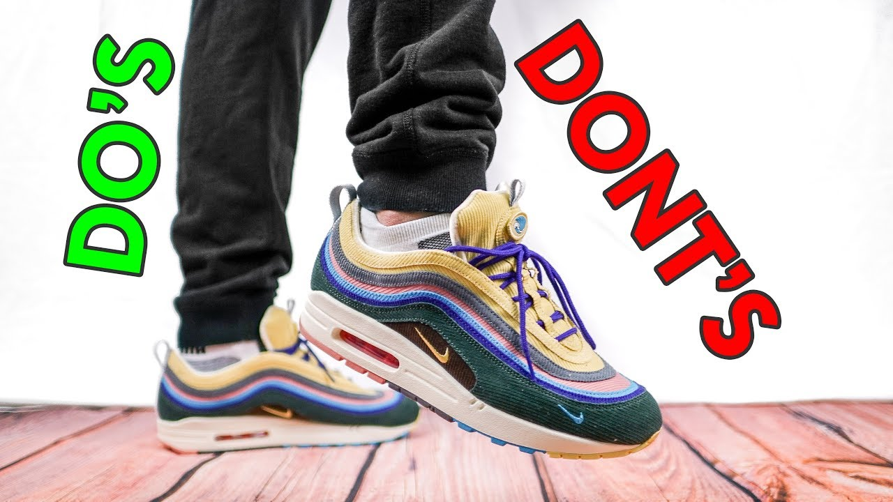 online store 4ffe3 e1181 HOW TO STYLE SEAN WOTHERSPOON AIR MAX 1 97 SW VF WITH ACCESSORIES