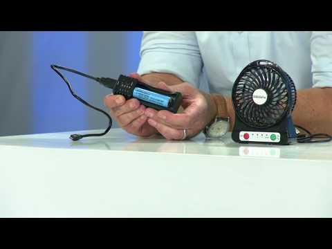 revolt 2in1-USB-Reise-Akkuladegerät mit Powerbank-Funktion, auch für Li-Ion