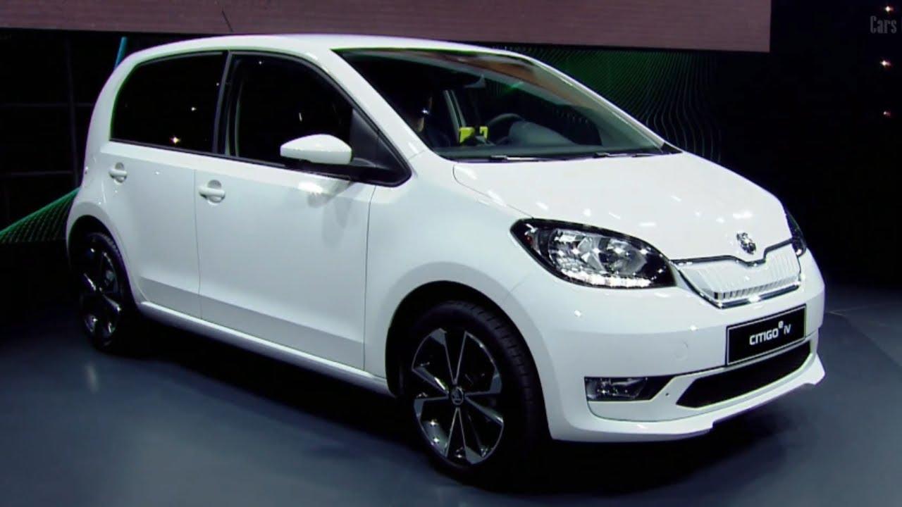 2020 Skoda Citigo Iv Electric Car Unveiled Youtube