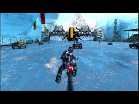 MotorStorm Arctic Edge Gameplay   PSP