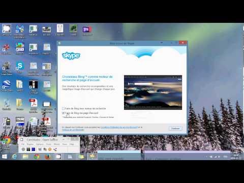 Installation de skype pour bureau sur windows 8.1