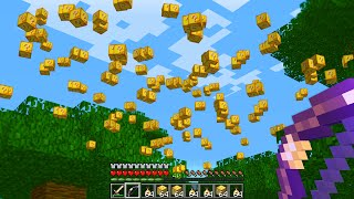Minecraft UHC but lucky blocks fall from the sky..