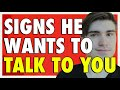 5 EARLY Signs a Guy Likes You (100% GUARANTEE)