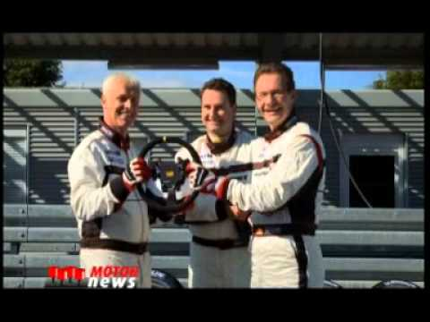 Porsche 911 GT3-r Matthias Muller und Michael Macht - Deutsche - Motor News