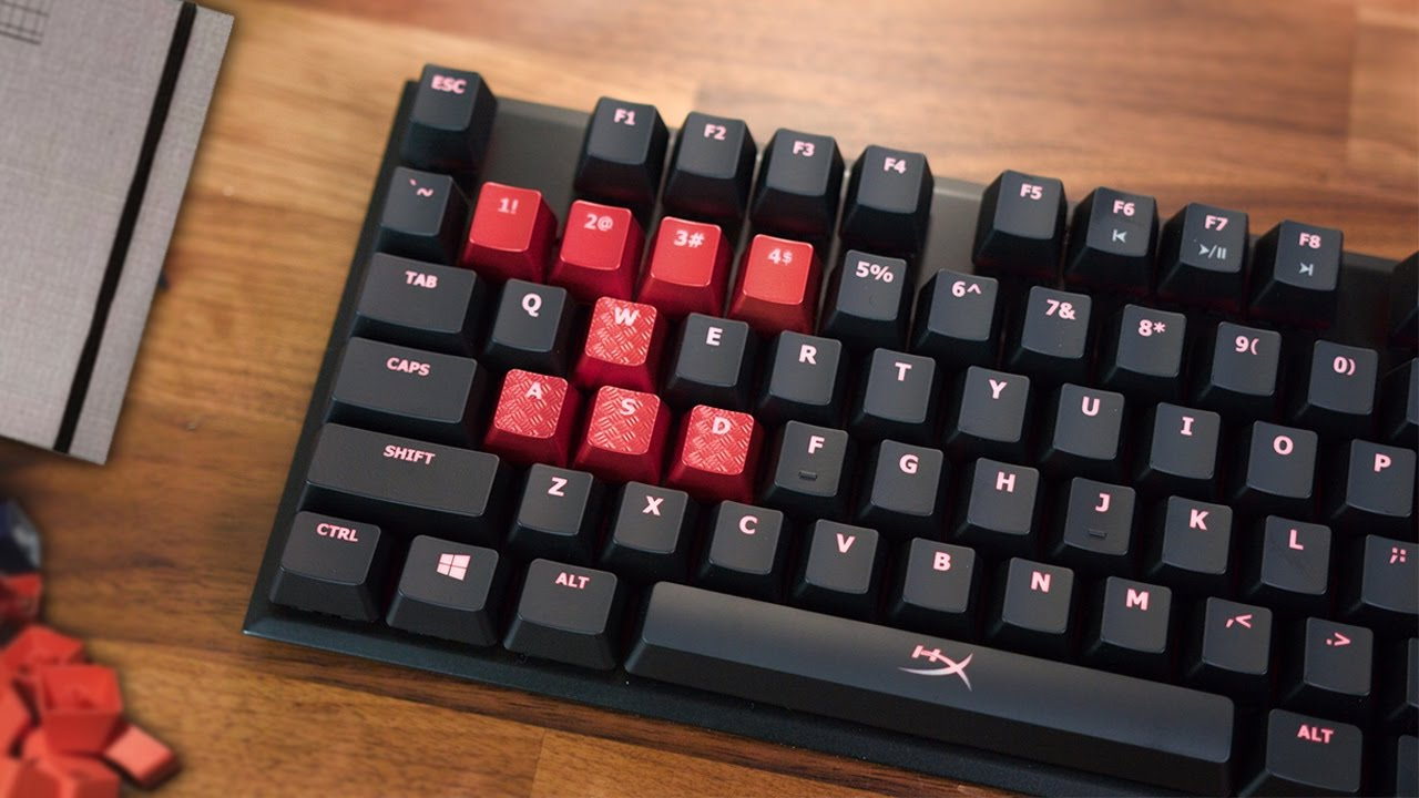 HyperX Alloy FPS Keyboard Review - YouTube