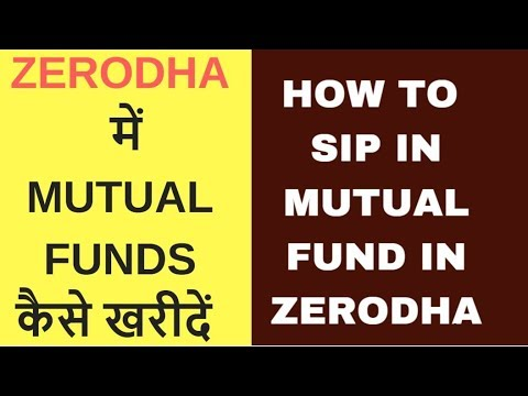 How to invest or SIP in Direct Mutual Funds in Zerodha via Coin Platform
