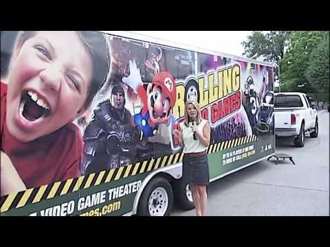 2020 New Business Idea | Rolling Video Games Mobile Video Game Truck