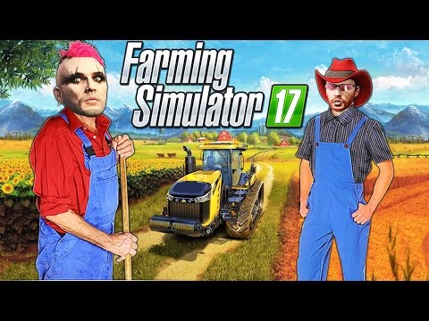 Quitting Our Jobs and Buying A Farm!! Farming Simulator 17 (PC) Gameplay Multiplayer (Dual Cam)