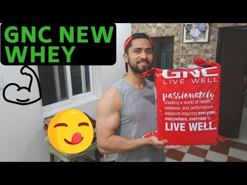 MY GNC NEW STACK | GNC Amp Gold Series 100% Whey Protein Advanced