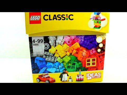 Juego De Bloques Lego Caja 10695 Videos De Juguetes En Espanol