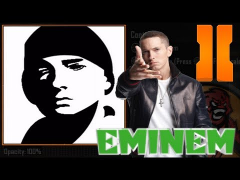 Black Ops 2 - Eminem Emblem Tutorial (slim shady / marshall mathers)