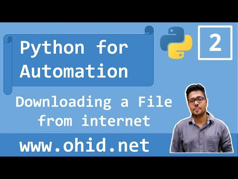 python 2 download file from internet