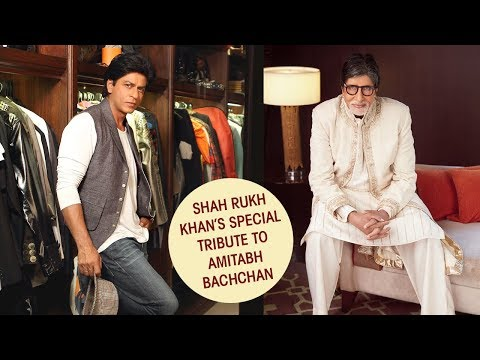 When Shah Rukh Khan paid tribute to Amitabh Bachchan