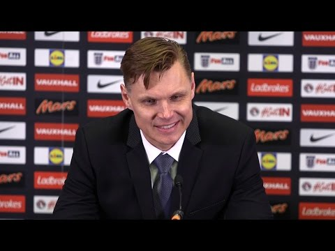 England 2-0 Lithuania - Edgaras Jankauskas Full Post Match Press Conference