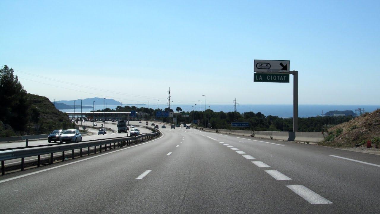 A50 autoroute #