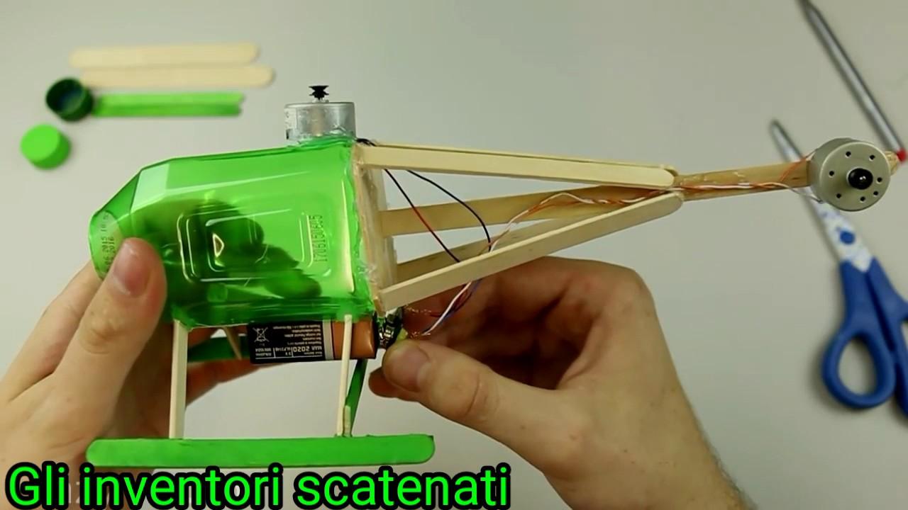 Un Elicottero : Come costruire un elicottero elettrico youtube