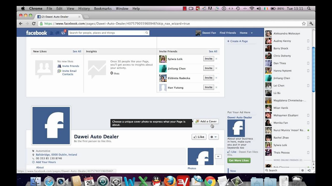 how to create a facebook fan page - making a facebook fan page ...