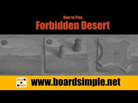How To Play - Forbidden Desert