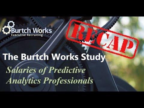 Predictive Analytics 2017 RECAP: Salaries, Demographics, and Hiring Market Trends in 11 Minutes