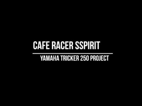 How to build a Cafe Racer (Start to Finish) - Yamaha Tricker 250 by Cafe Racer SSpirit