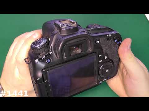 Как посмотреть пробег фотоаппарата canon 60d