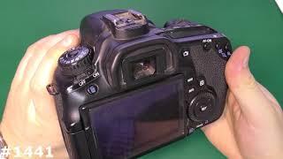 Сколько фотоаппарат сделал снимков. Счетчик фотографий Canon EOS 60D